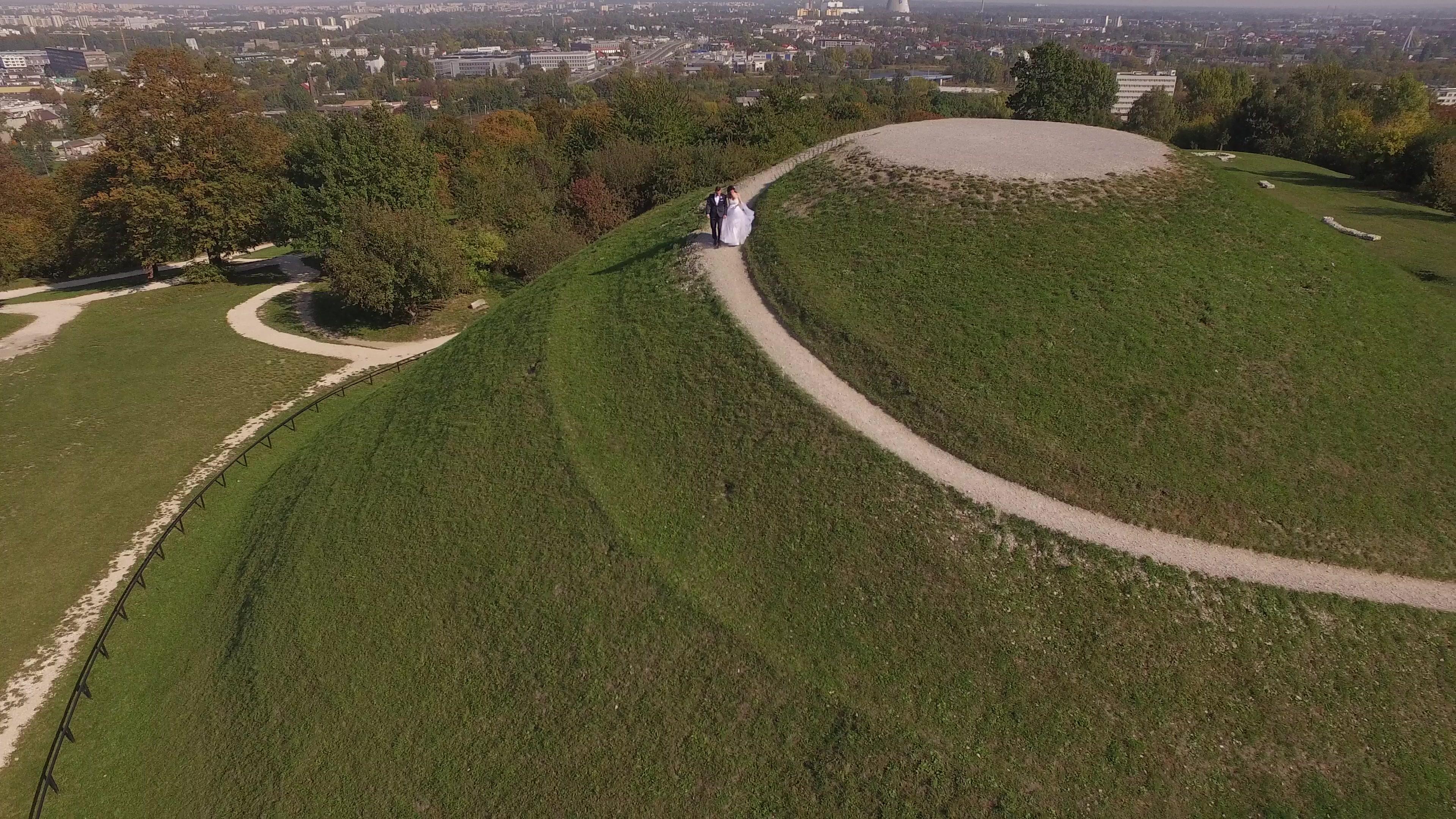 AirDrone sesja ślubna z drona