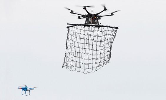Drone Catcher System