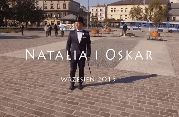 Film ślubny z drona - Natalia i Oskar
